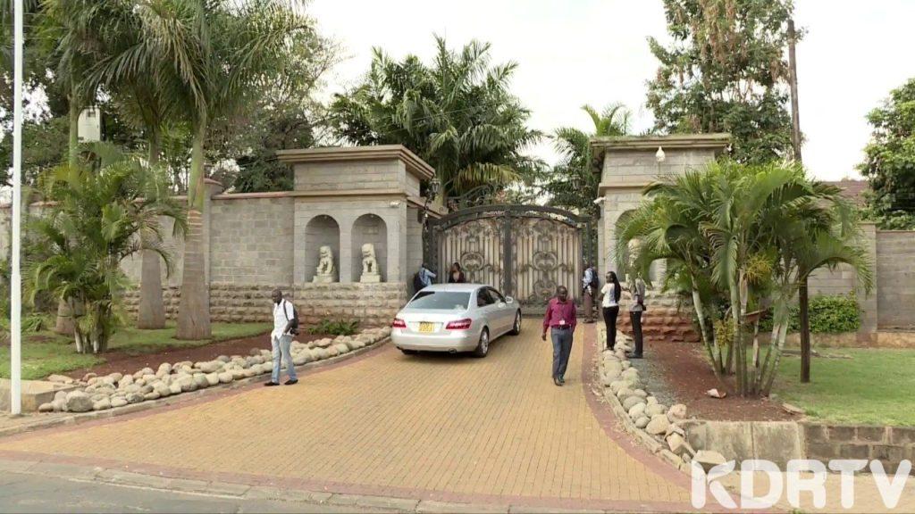 Jimmy Wanjigi's home
