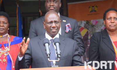 DP William Ruto during the press conference. PHOTO. CAPITAL FM