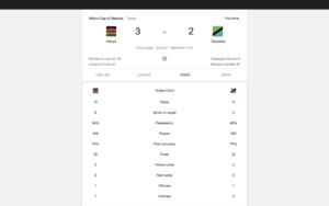 Final Whistle kenya vs Tanzania