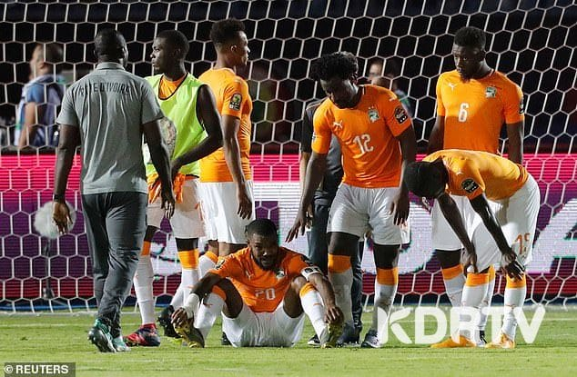 Alegeria bundles Ivory Coast out of AFCON 2019