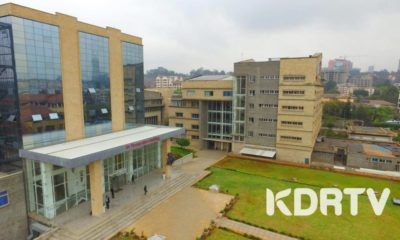 An aerial view of Strathmore University Keri campus