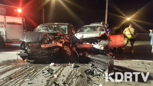 Drunk Driver rams