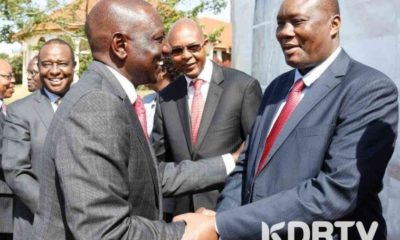 Governor Ojaamong face ODM disciplinary action after supporting DP Ruto 2022 presidential bid