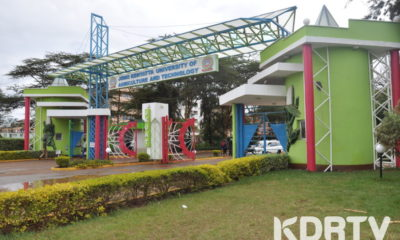 JKUAT Main Campus Gate at JUJA.