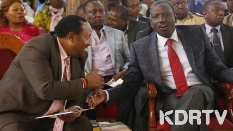 ruto and waititu