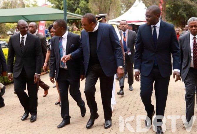President Uhuru Kenyatta and other Leaders During CITAM 6OTH Anniversary.