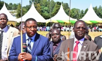 West Pokot Governor and Deputy Governor.