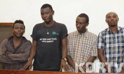 four kenyan men