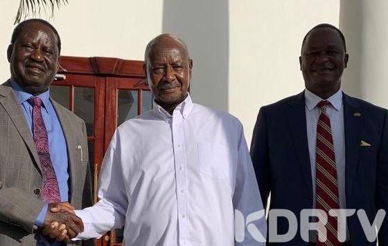Raila Odinga To Uganda