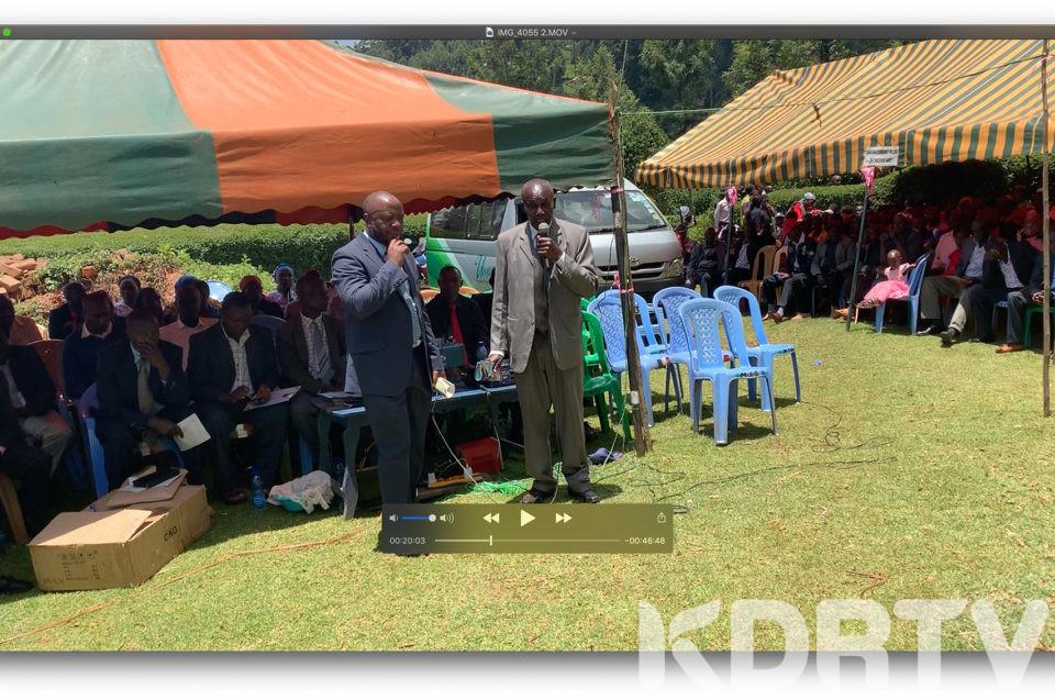 Eric Ogweno burial