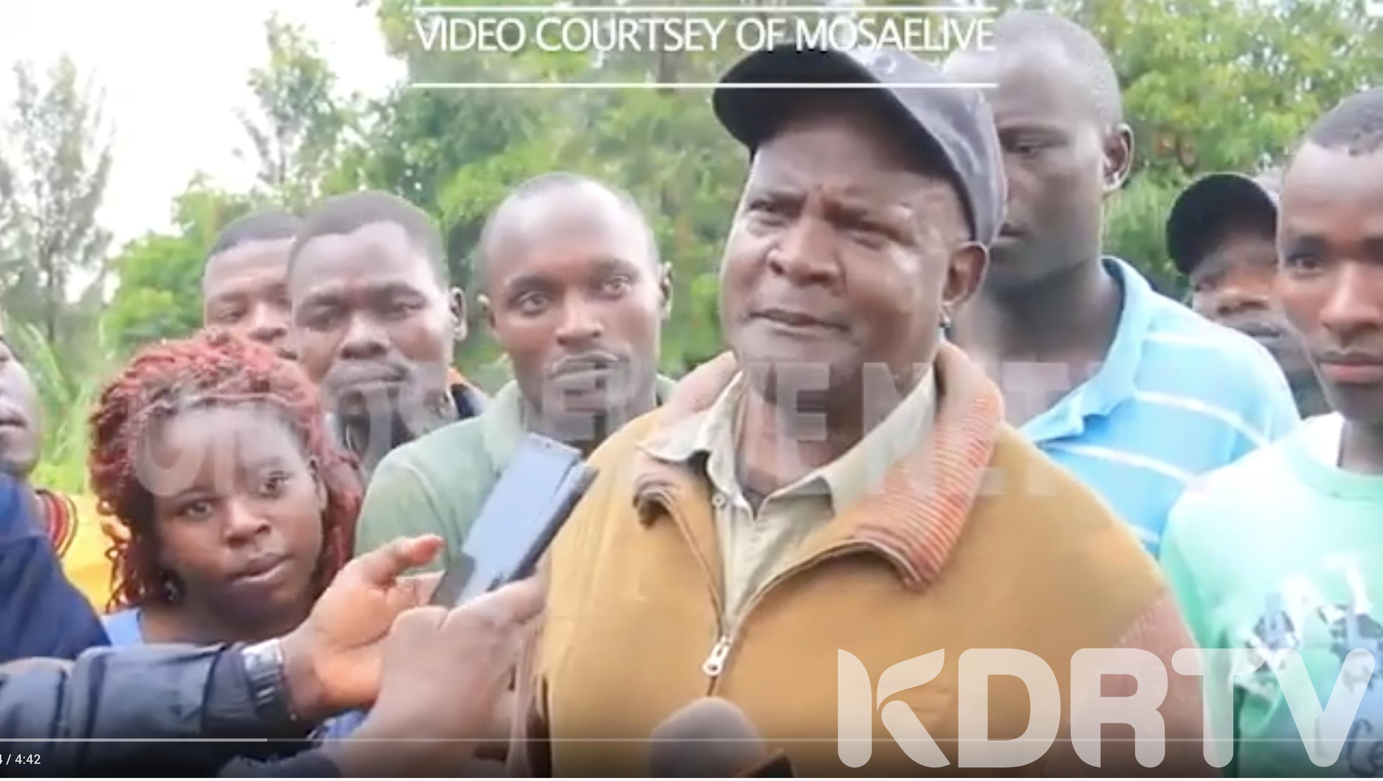 Kisii village in Shock