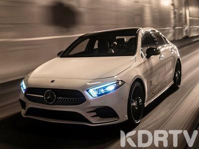 2019 Mercedes Benz A CLASS on street 400 thb