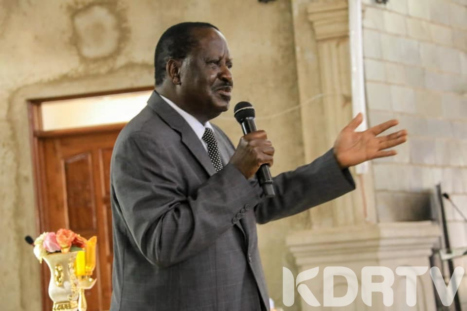BBI Will Not Make Uhuru Prime Minister Raila Odinga