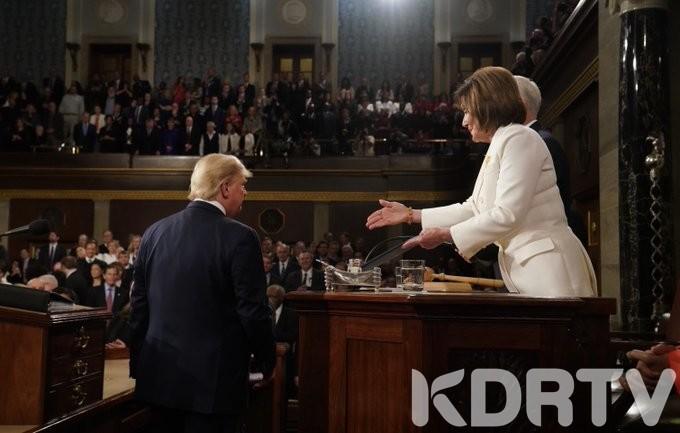 President Trump and Speaker Nancy Pelosi
