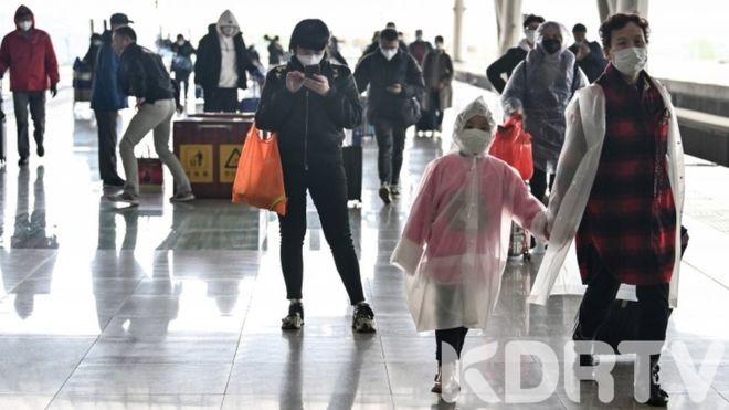 Coronavirus Wahun City Reopens Partly After Lockdown