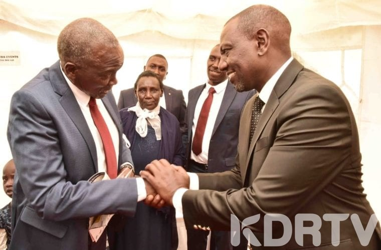 DP ruto Reveals Last Conversation With Late Sergeant Kipyegon