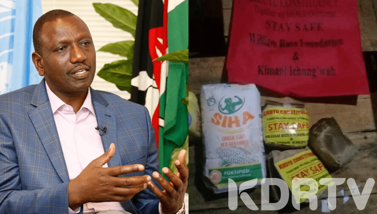 DP Ruto Distances Himself From Poisonous Food In Kikuyu