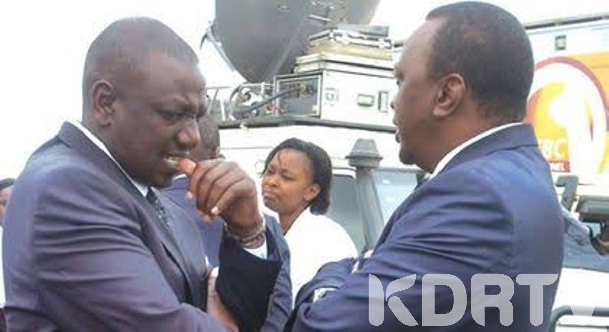 ruto in deep thoughts