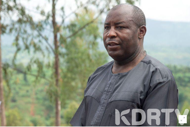 New presiednt of Burundi is being sworn in today