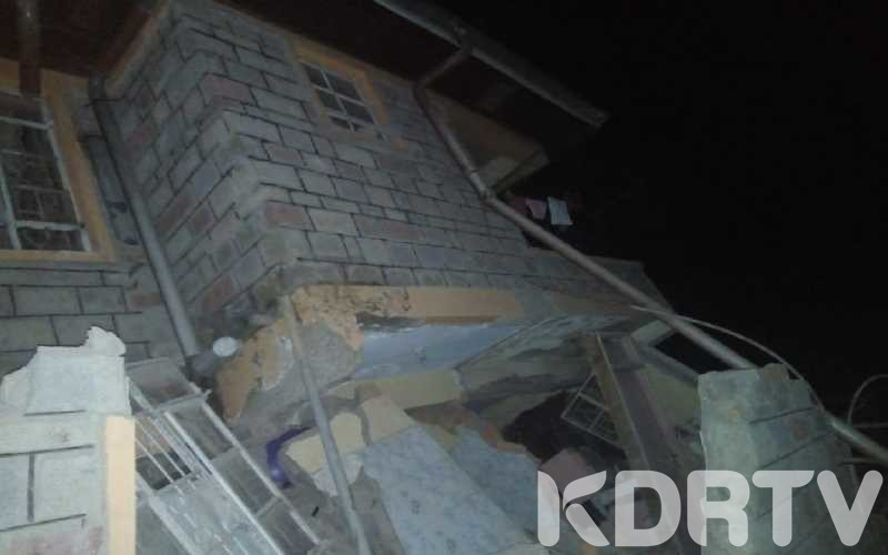 Three Storey Building Collapse In Kericho Town