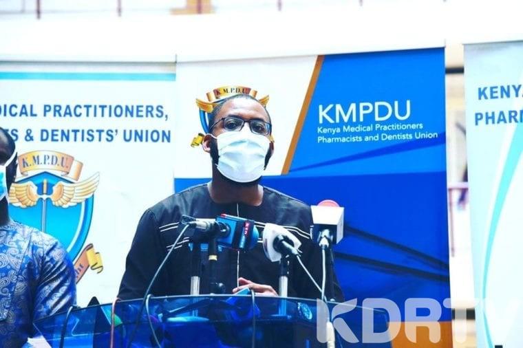 BREAKING KMPDU Boss Chibanzi Mwachonda Contracts Coronavirus