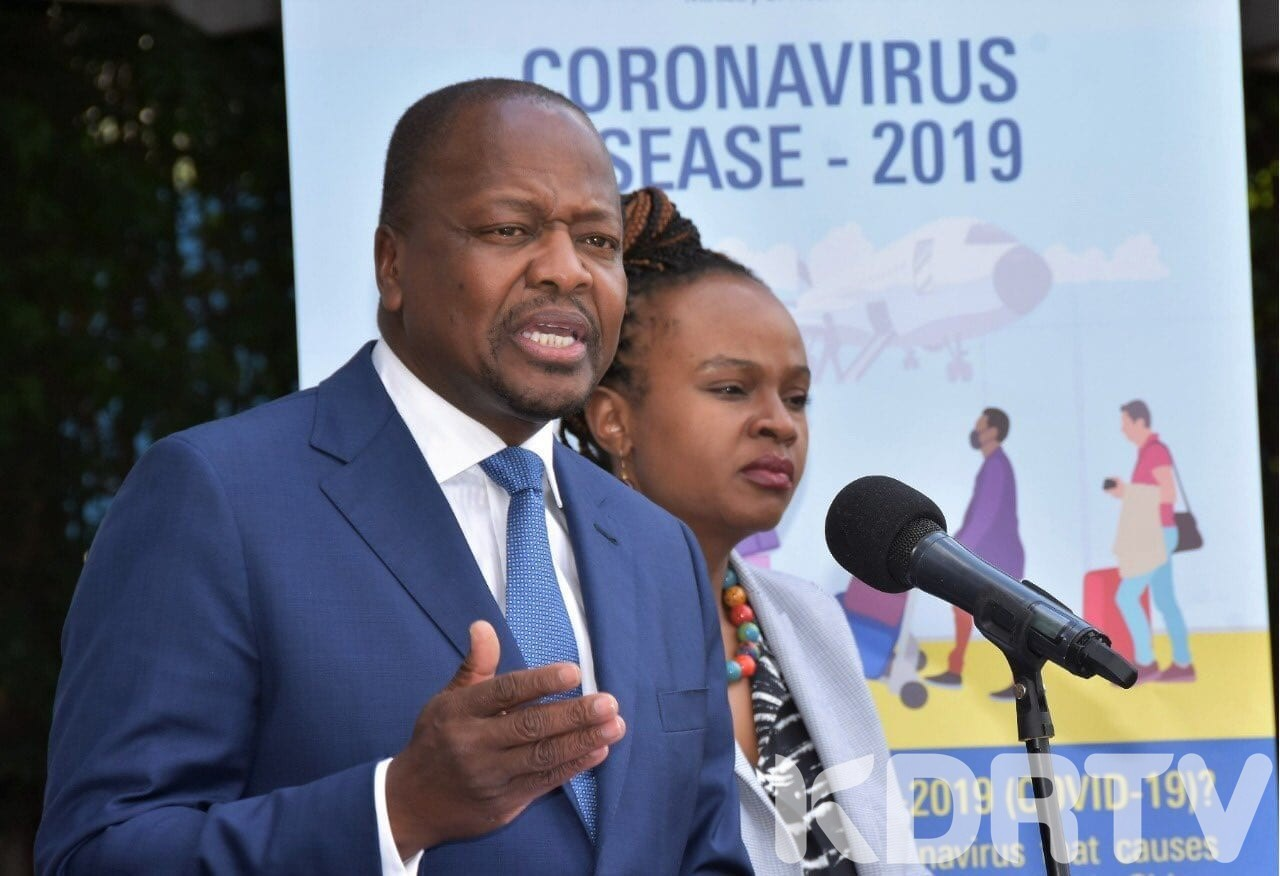 CS Kagwe Orders Lancet Kenya Be Investigated Over Conflicting COVID 19 Results