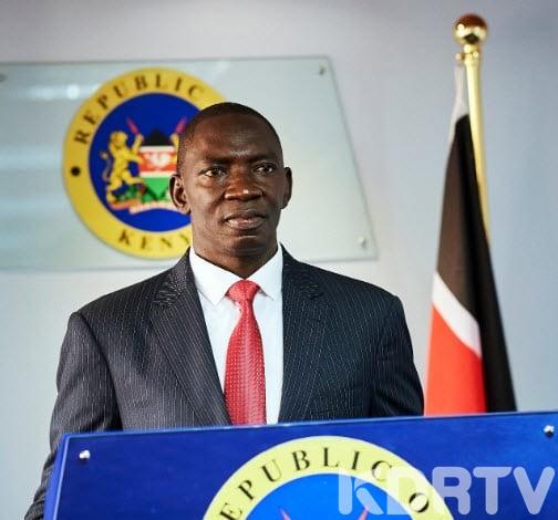 Govt Spokesperson Cyrus Oguna Contracts Coronavirus