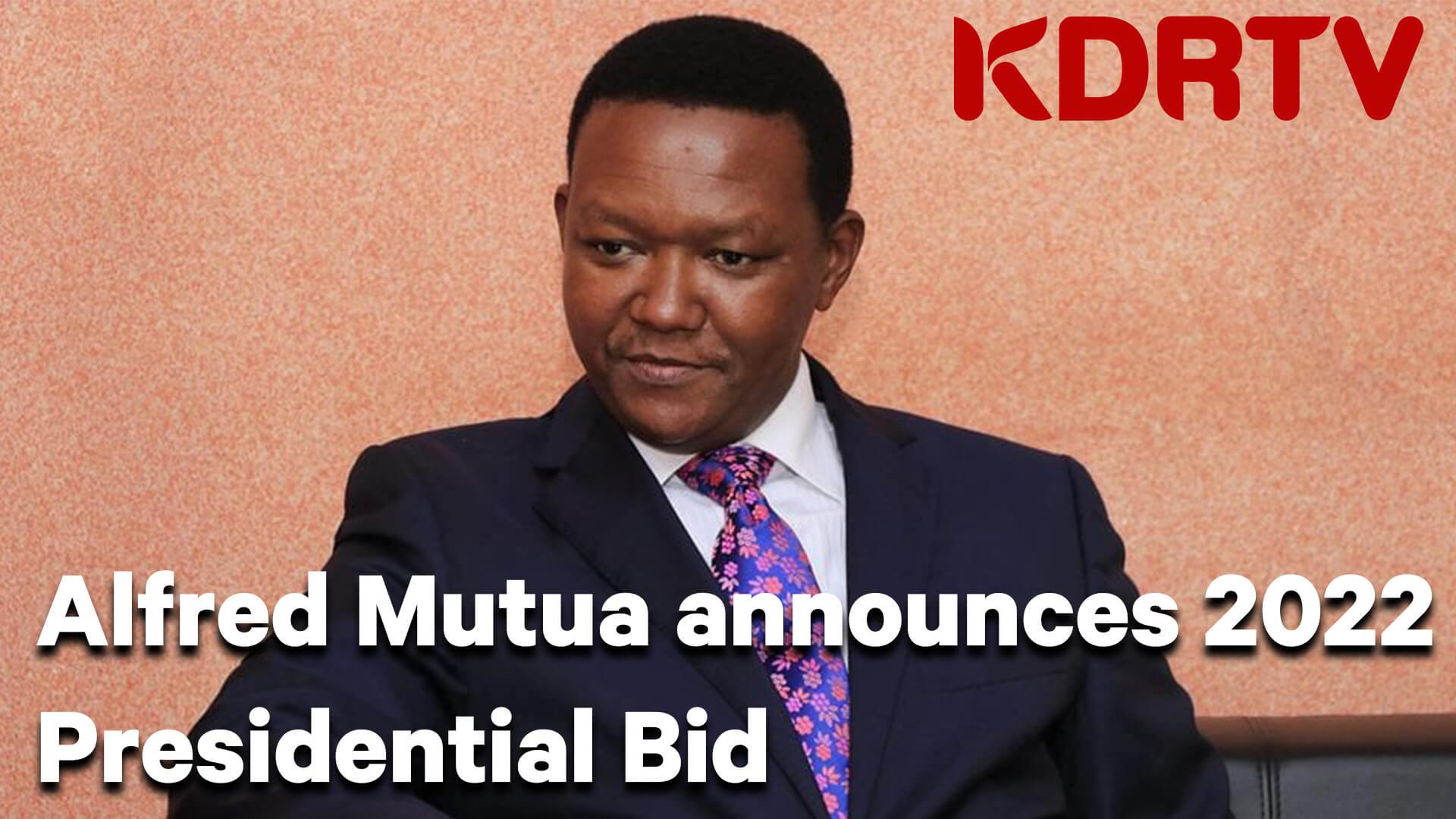 Alfred Mutua YT