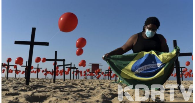 Brazil deaths passes 100 000 as the pandemic shows no sign of flattening