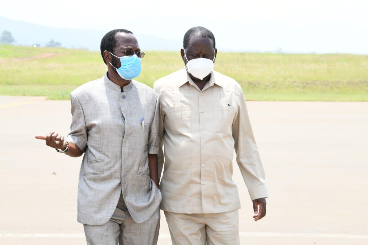 Governor Nyong'o and Raila Odinga