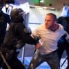 Police arrest man during Portland violence