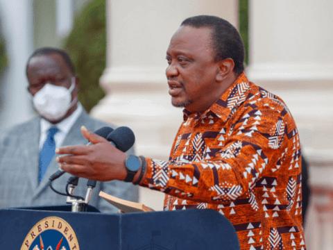 President Uhuru Extends Curfew Closure Of Entertainment Joints