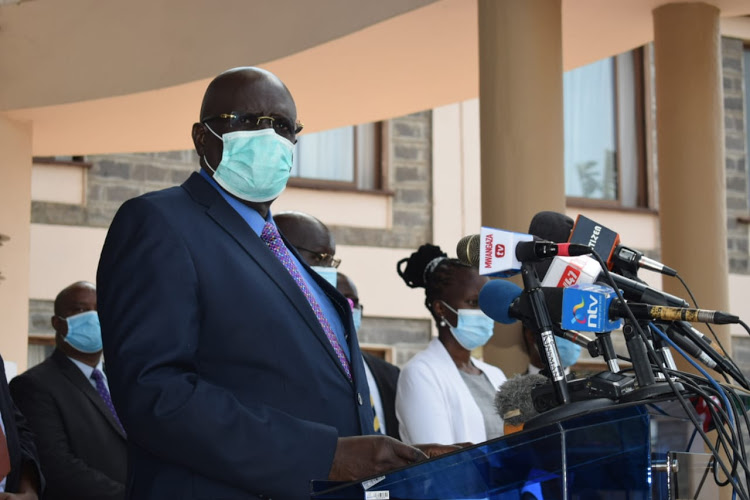 CS Magoha Directs Universities Tertiary Institutions To Reopen On October 5