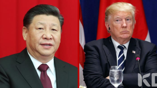 China announce sanctions in a retaliation against the US