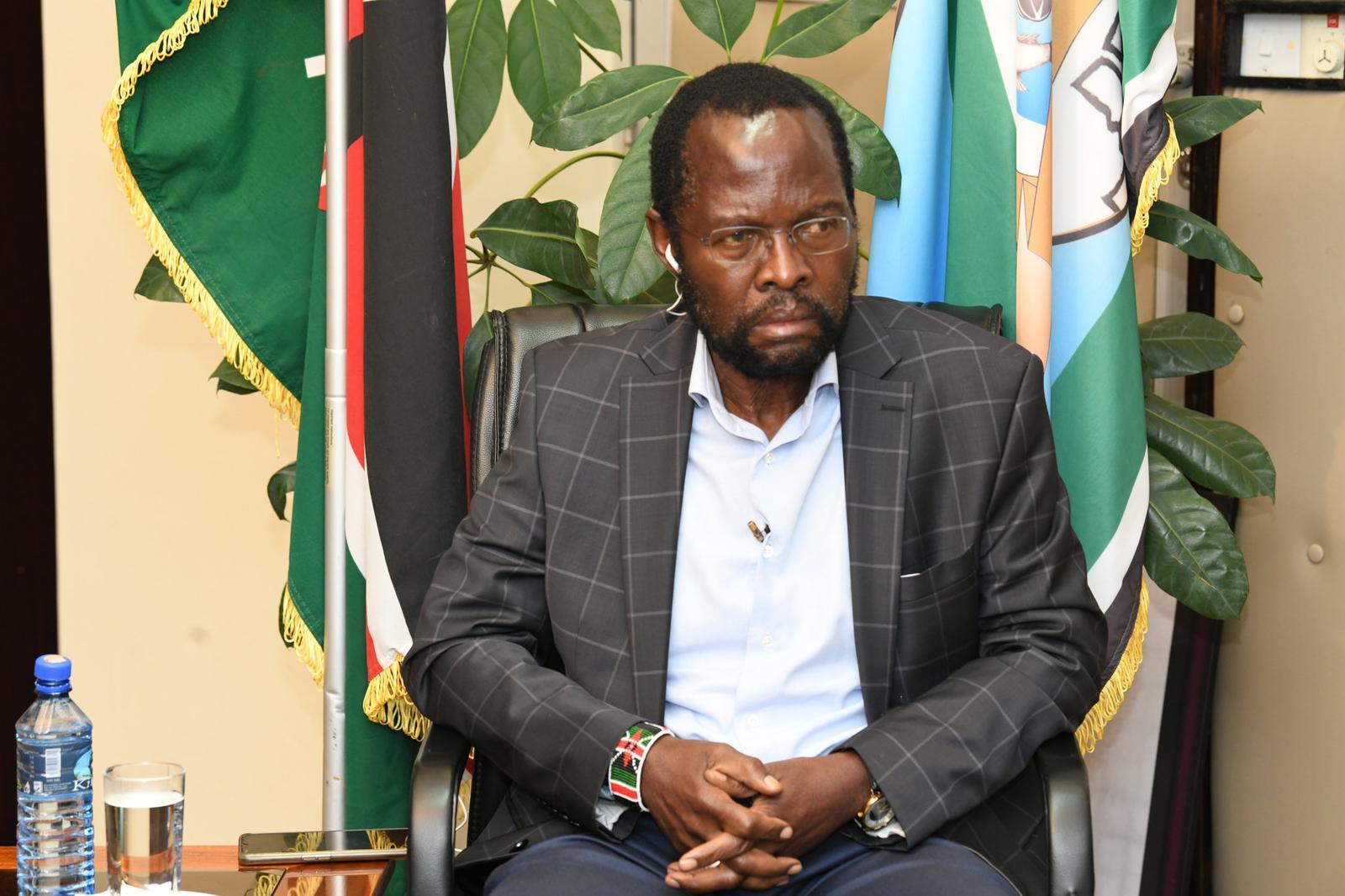 Governor Nyongo
