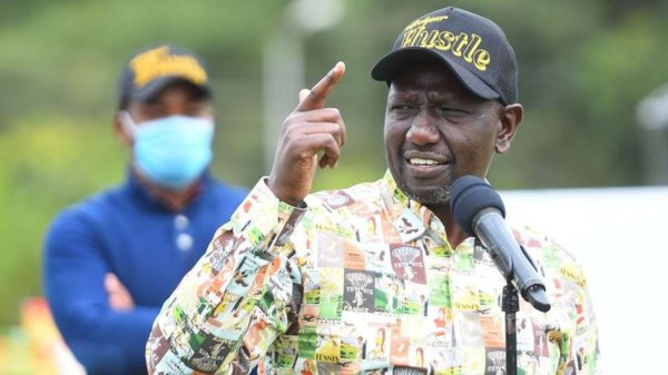Ruto has opposed the BBI Report