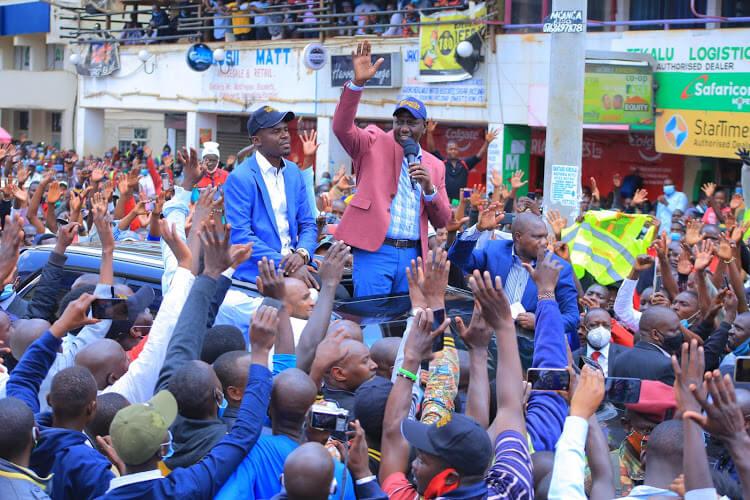 Ruto in Kisii County in September