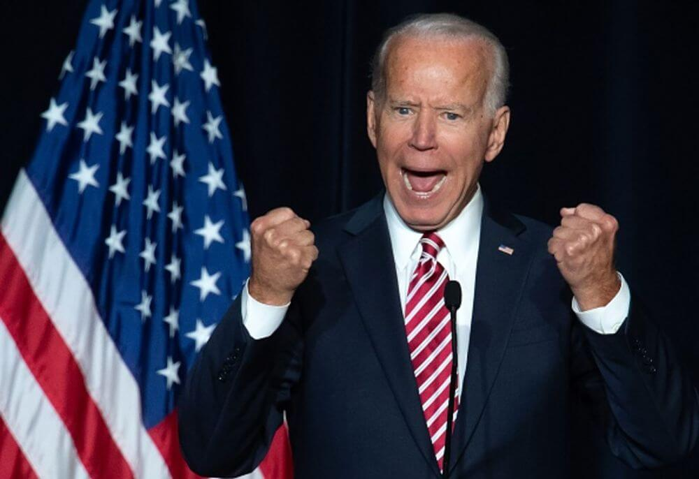 Joe Biden we are winning