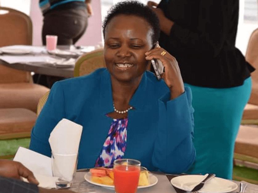 Machakos County Assembly Speaker Florence Mwangangi Contract Coronaviru