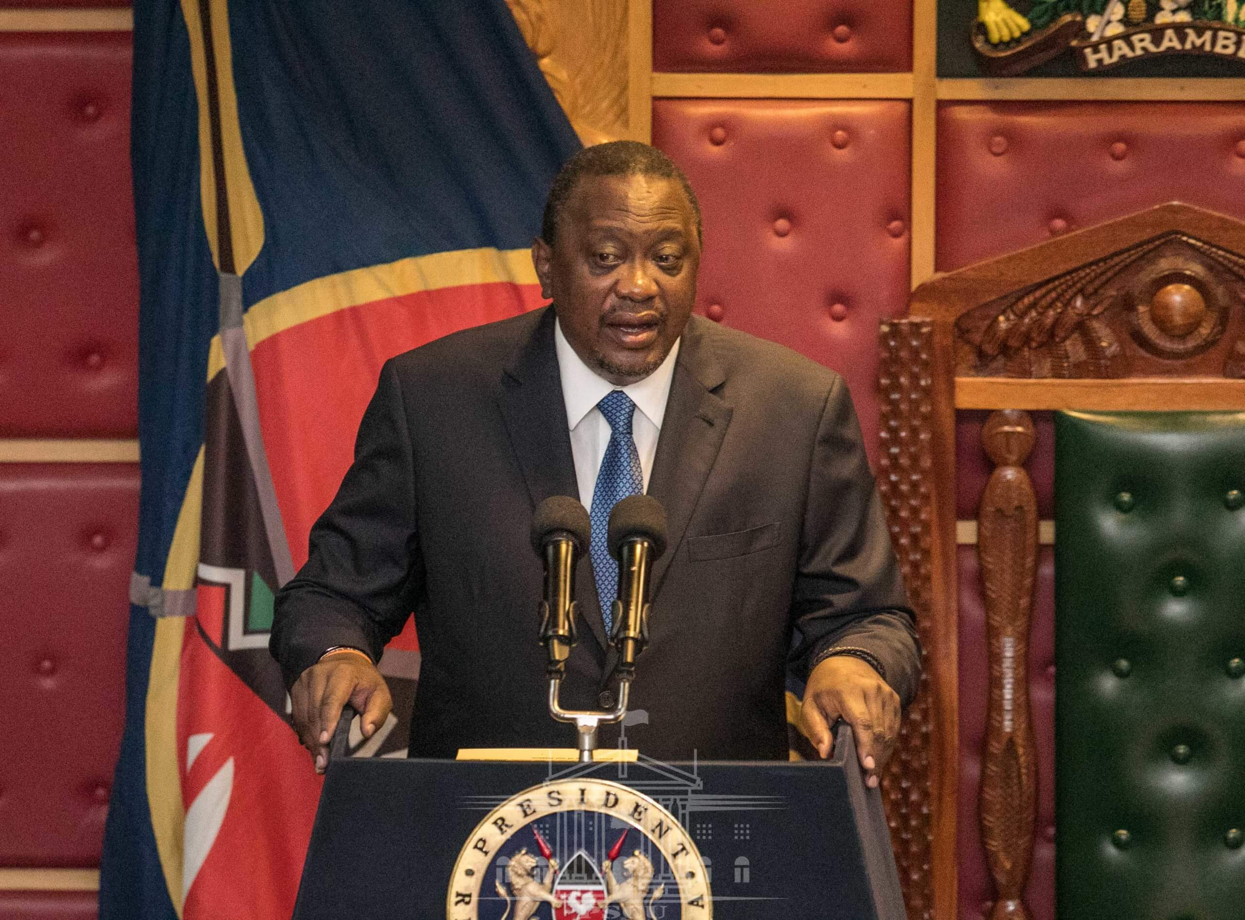 President Uhuru Delivers his State of the Nation Address