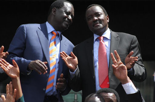 Raila and Kalonzo
