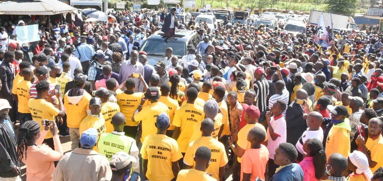 Ruto Addresses Wananchi in Tharaka Nithi County on Sunday
