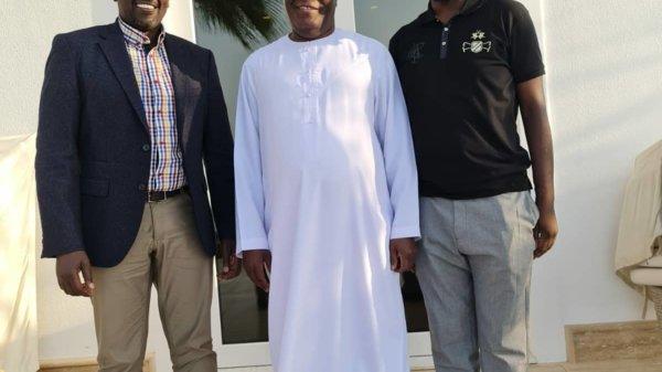 Ruto with controversial Nigerians in Dubai