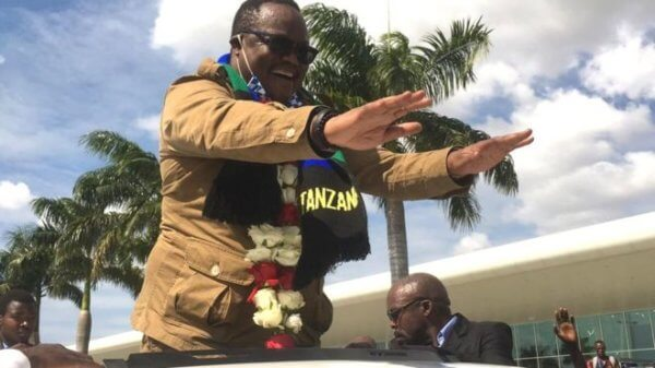 Tundu Lissu leaves for Belgium