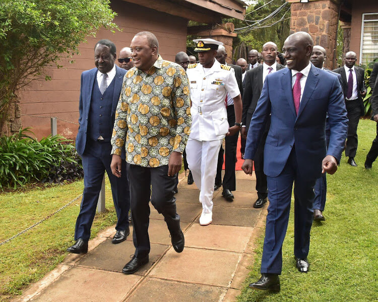 Uhuru Raila to Meet Pro BI MPs in Naivasha Today