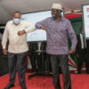 Uhuru and Raila during launch of BBI Signatures