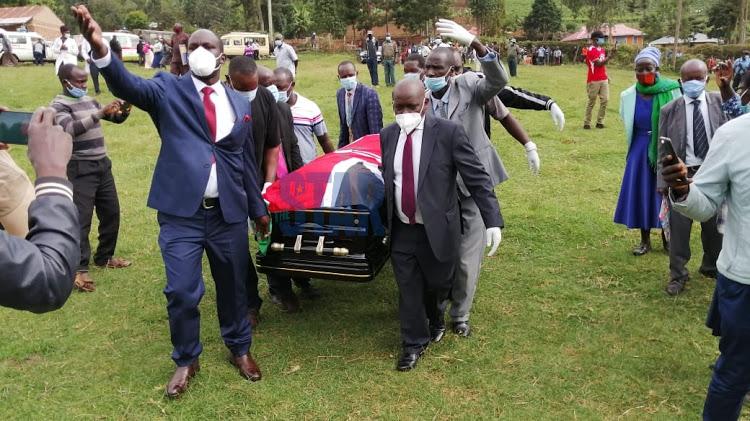 Nyangarama body arrives Nyamira