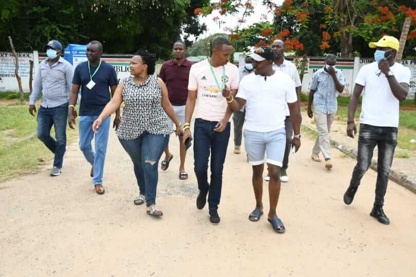 Team Tanga Tanga in Msambweni