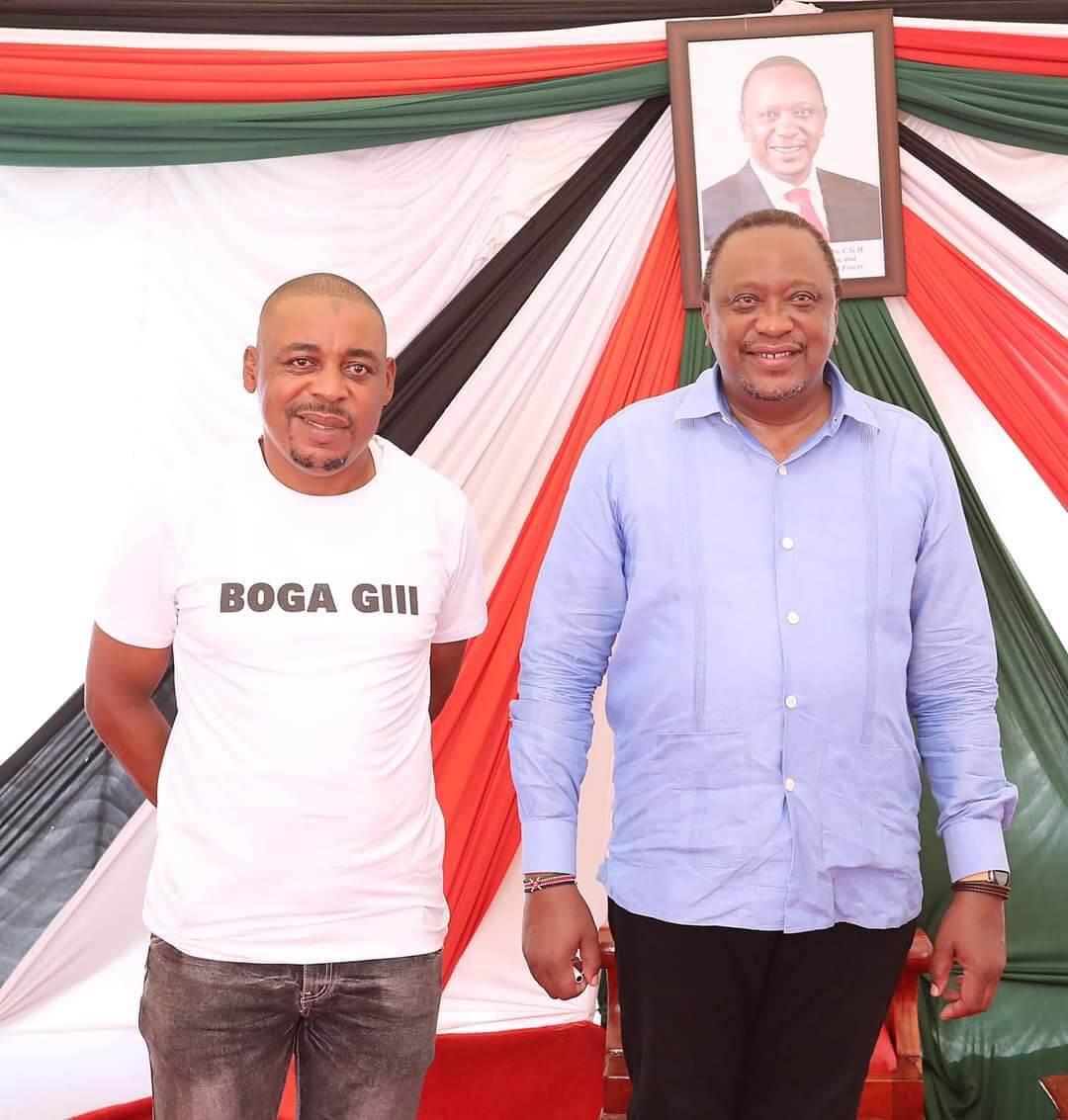 Uhuru and ODM candidate Omar Boga