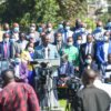 William Ruto addresses the media